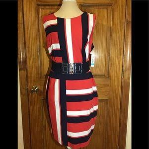 Woman's size 16 NWT dress sleeveless with belt